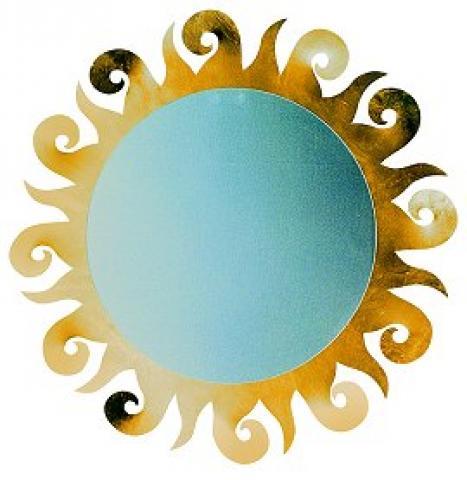 specchio sole arti mestieri