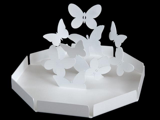 ArtieMestieri centrotavola Farfalle bianco thumb