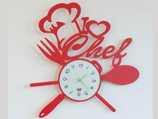 ArtieMestieri orologio IloveChef rosso thumb