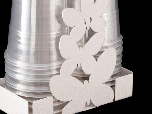 ArtieMestieri portabicchieri farfalle bianco p thumb