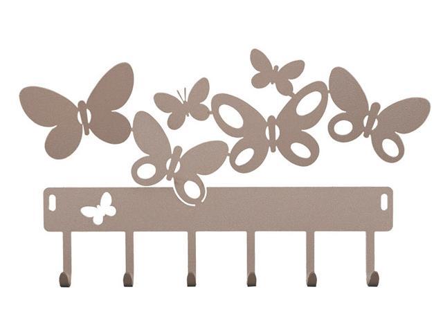 Portachiavi da parete arti mestieri farfalle butterfly - Portachiavi da parete ...
