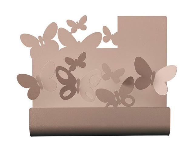 ArtieMestieri portaposta Farfalle beige thumb