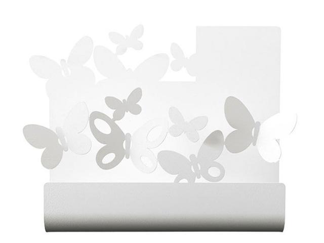 ArtieMestieri portaposta Farfalle bianco thumb