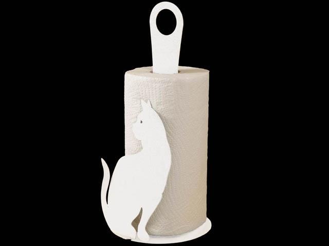 ArtieMestieri portatorotolo Gatto bianco thumb
