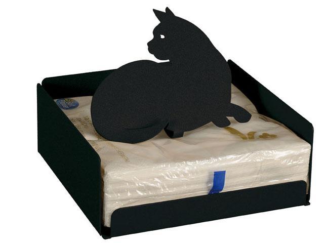 ArtieMestieri portatovaglioli Gatto nero thumb