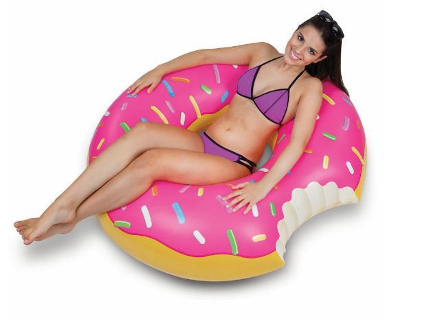 BigMounth Donuts gonfiabile thumb