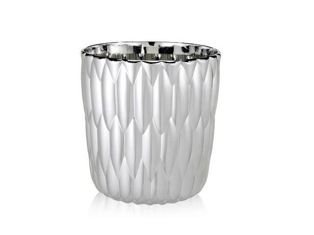 Kartell vaso Jelly argento thumb