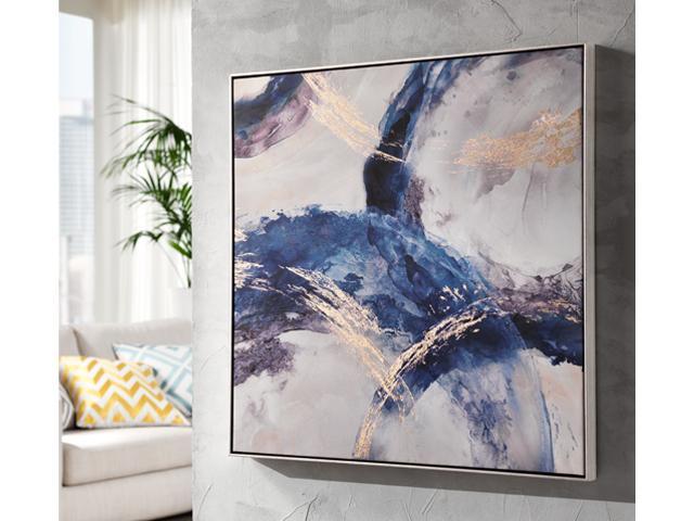 LOcaNera quadro astratto blu a thumb