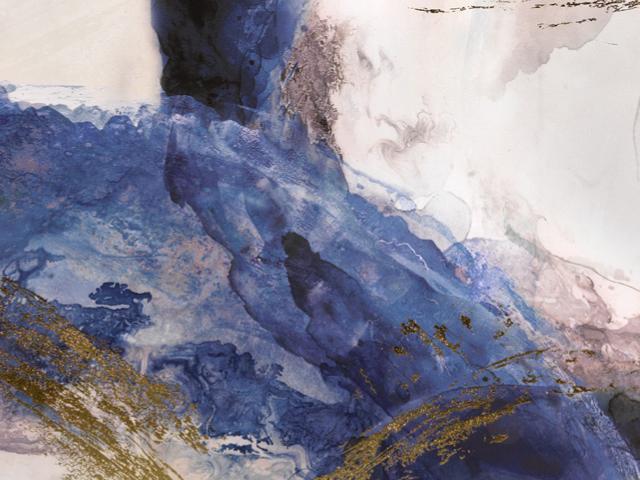 LOcaNera quadro astratto blu p thumb