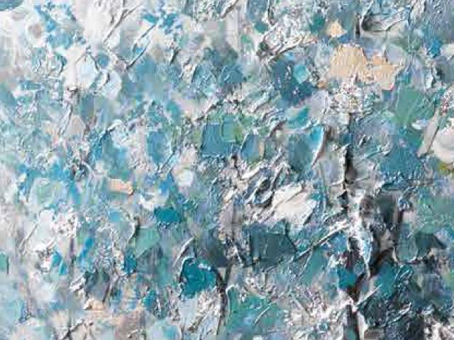 LOca Nera Quadro Alberi azzurr particolarei thumb