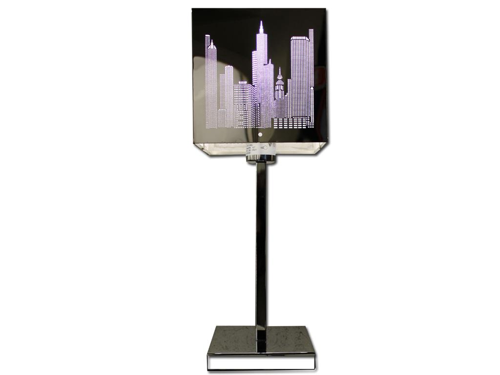 Lampada Da Tavolo Metallo New York