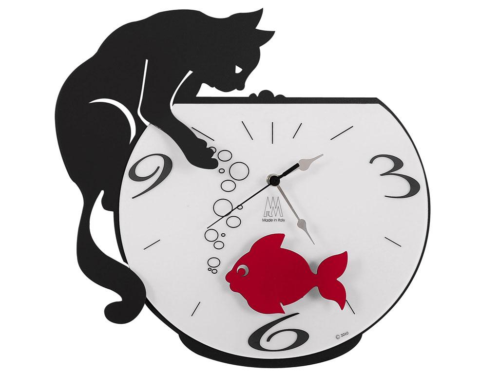 Orologio da parete Arti e Mestieri Tommy e Fish
