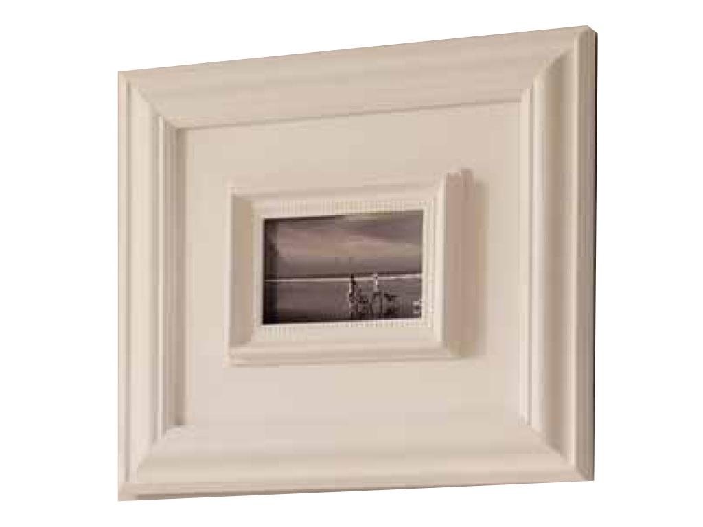 Cornice rettangolare l 39 oca nera x1 a una foto for Portaritratti legno