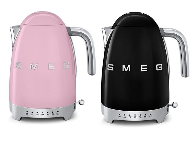 Smeg bollitore temp variabile rosa nero thumb