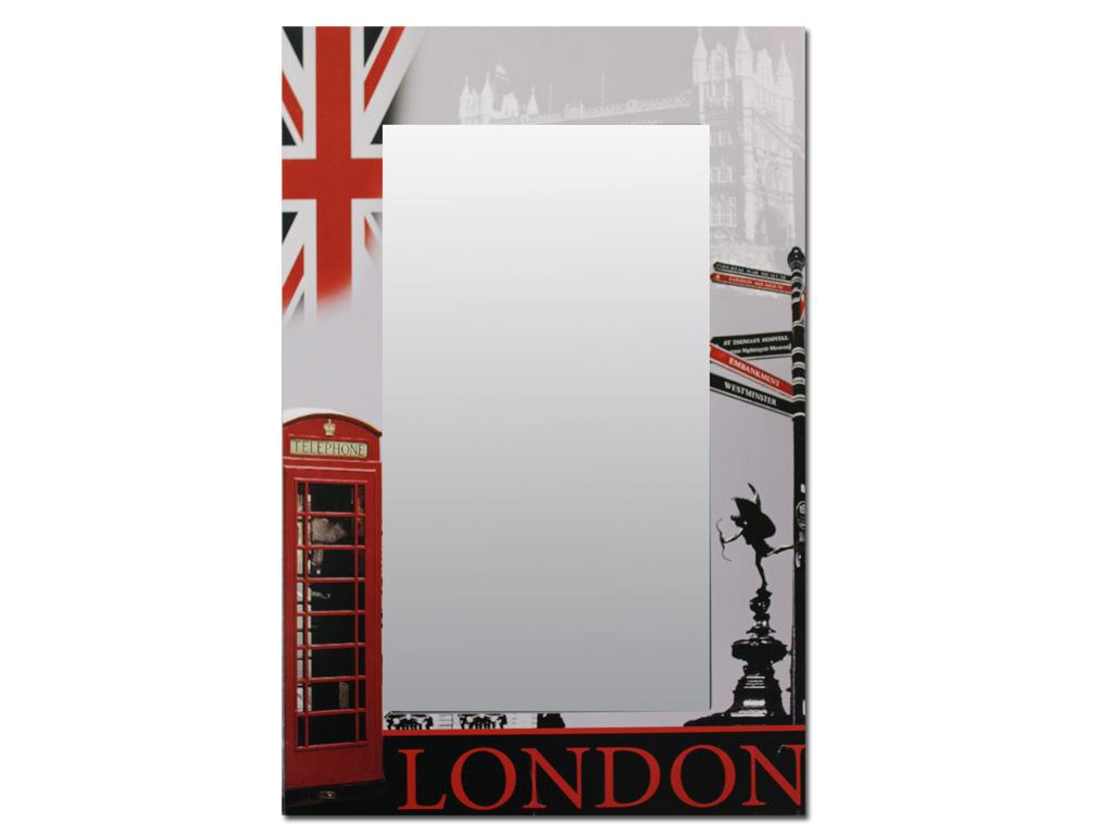 Specchio legno londra for A specchio in inglese