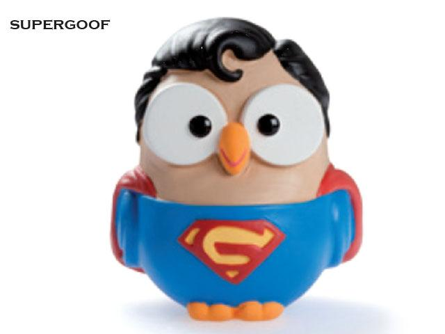 Superman thumb