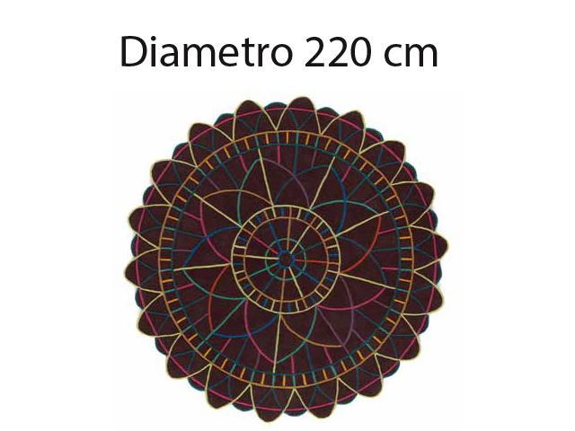 TappetoSitap Tondo 220 thumb