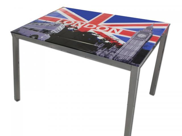 Tavolo scrivania vetro bandiera inglese - Dettagli prezzi e informazioni