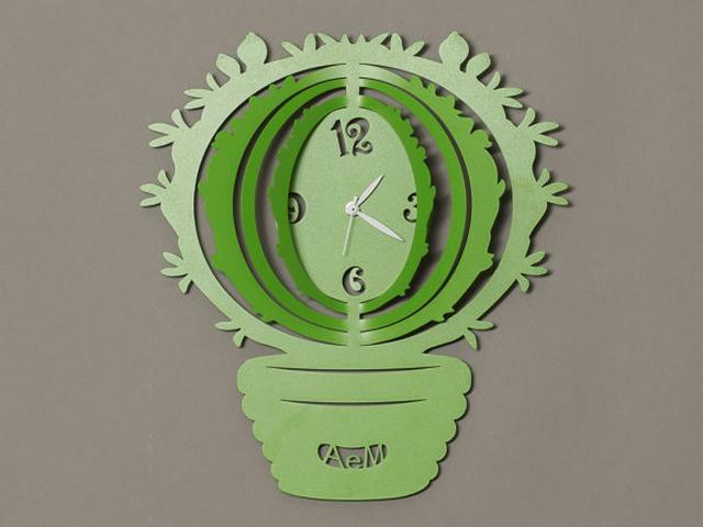 artiemestieri orologio cactus verde thumb