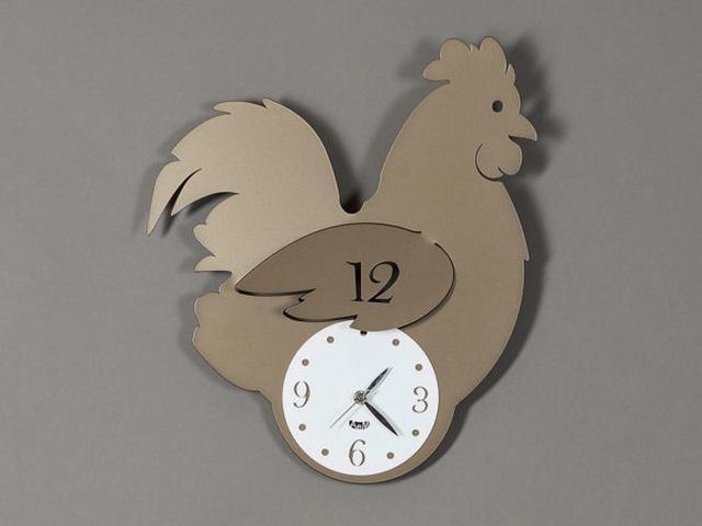 artiemestieri orologio chioccia bronzo thumb