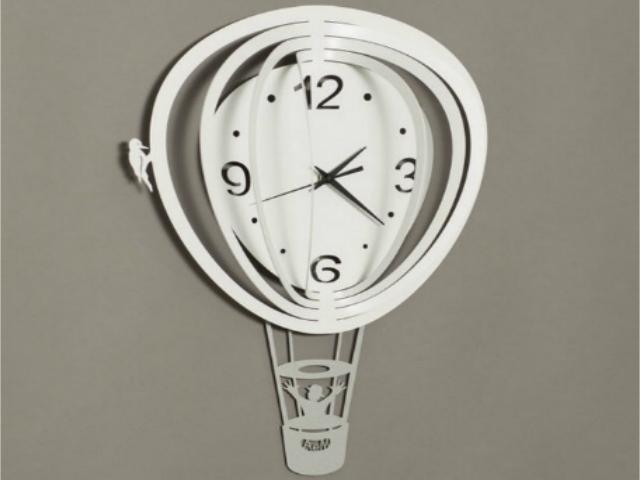 artiemestieri orologio mongolfiera bianco thumb
