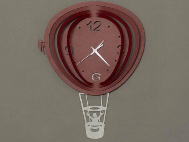 artiemestieri orologio mongolfiera bordeaux thumb